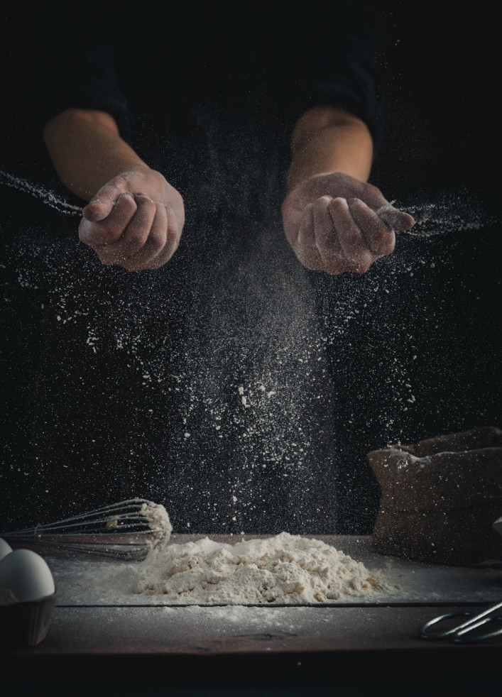how to substitute flours