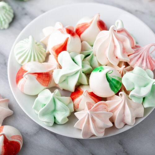 Peppermint Meringue Cookies Recipe