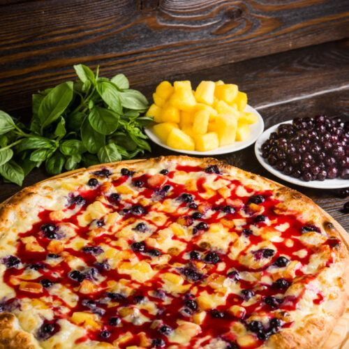 best fruit dessert pizza recipes
