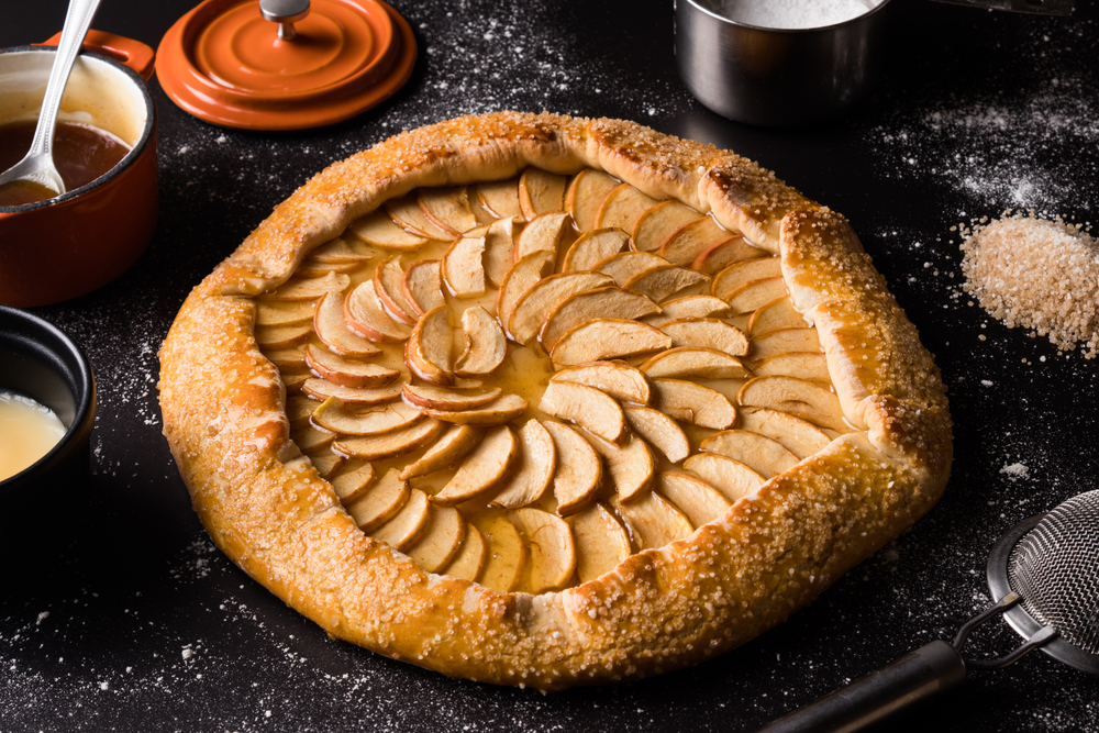 Apple Pie Dessert Pizza Recipe