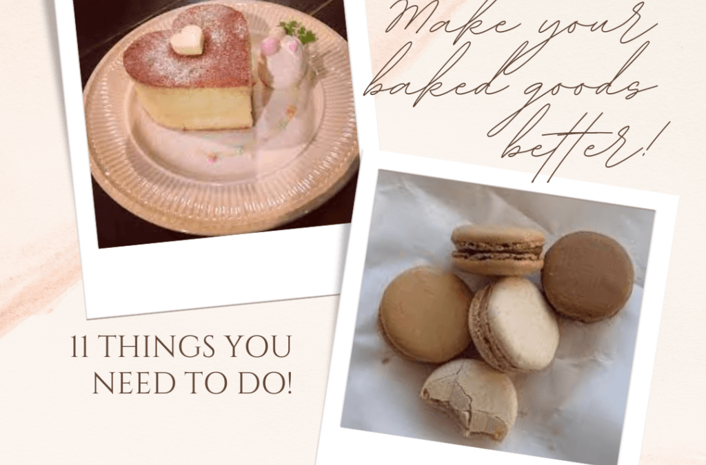 Things to Make Your Baked Goods Better